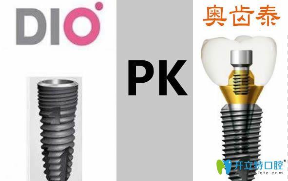韩国dio和奥齿泰哪个好?两者种植体的价格/寿命/材质大PK