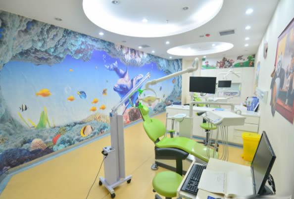 洛阳拜博口腔儿童治疗室环境