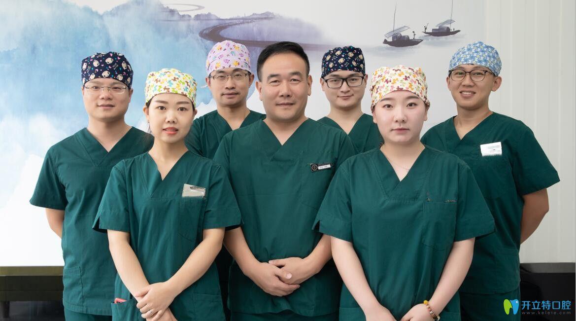 瑞齿佳拥有以钱晨主任为代表的经验丰富的医护团队
