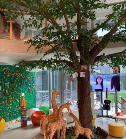 杭州维恩口腔儿童娱乐区一角环境