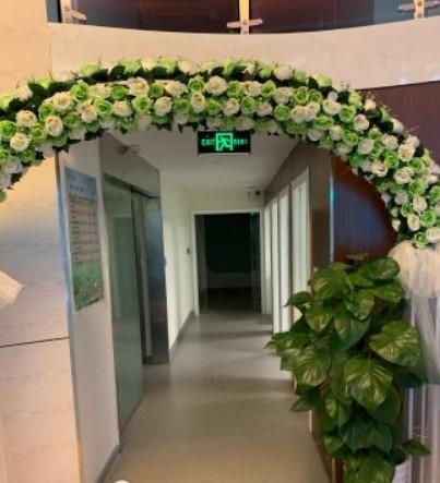 杭州维恩口腔走廊环境图