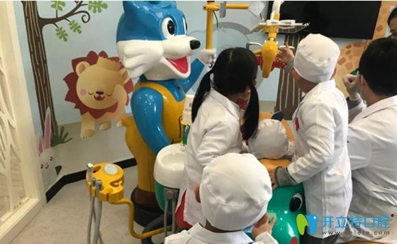 上海麦芽口腔儿童诊疗室环境