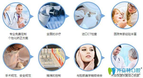 德贝美口腔的8大专业图示