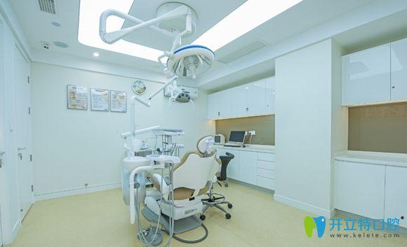 杭州一牙口腔干净整洁的诊疗室