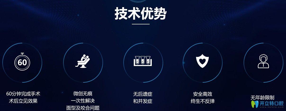 广州广大口腔V-LINE正领联合变脸术优势