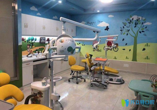 皓克口腔的儿童诊疗室环境