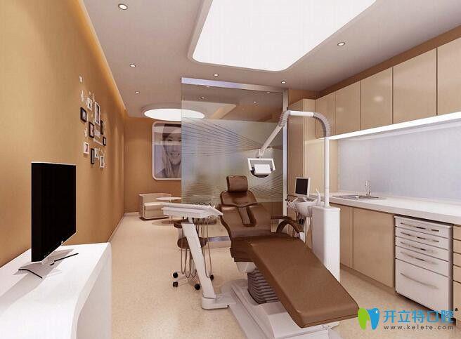 东营铂尔口腔独立的治疗室