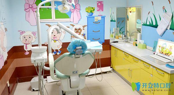 北京维恩口腔温馨的治疗室