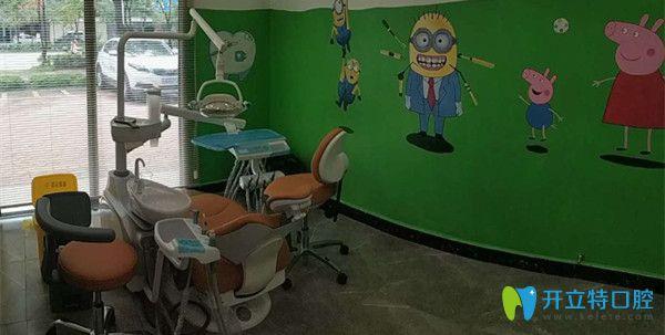 嘉悦口腔儿童齿科诊疗室