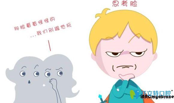 不良口腔习惯会造成儿童颌面部发育异常