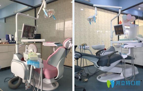 温馨的口腔诊疗室