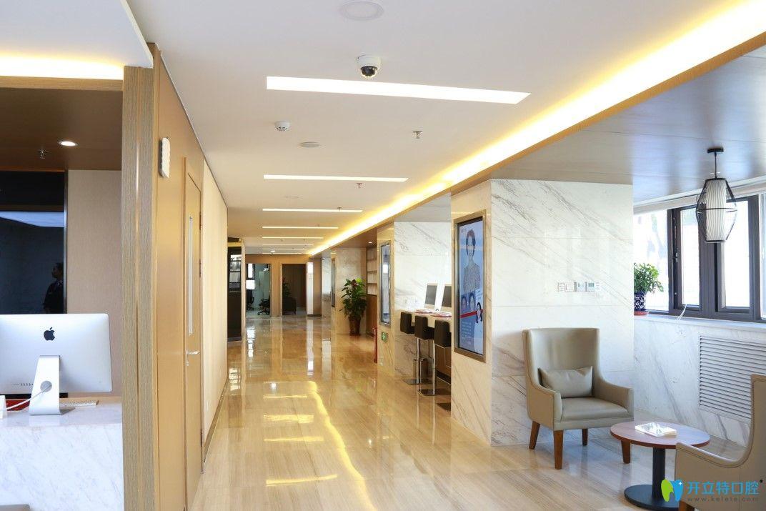 新疆整形美容医院走廊