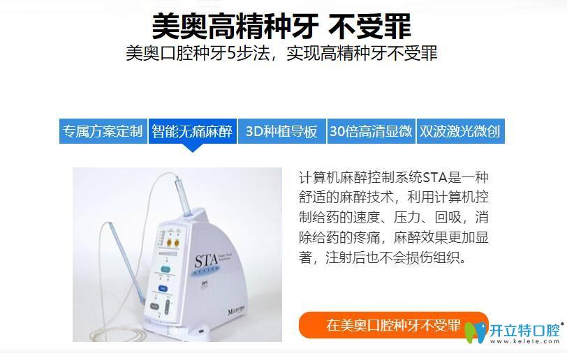 上海美奥种植牙5步法图示