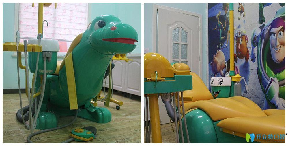 南阳方城万超口腔儿童诊室图