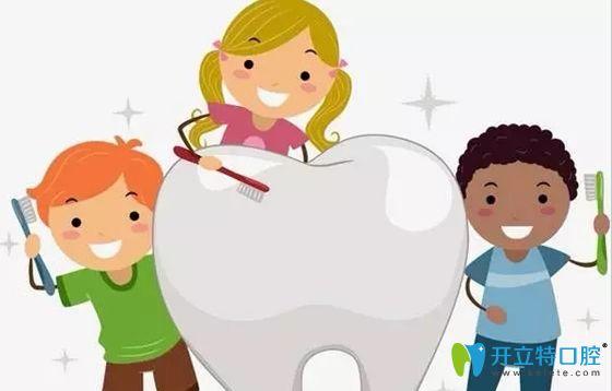 给孩子做牙齿涂氟和窝沟封闭真能防止龋齿继续龋坏?