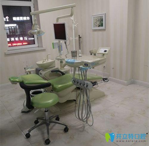 消毒后的独立诊疗室