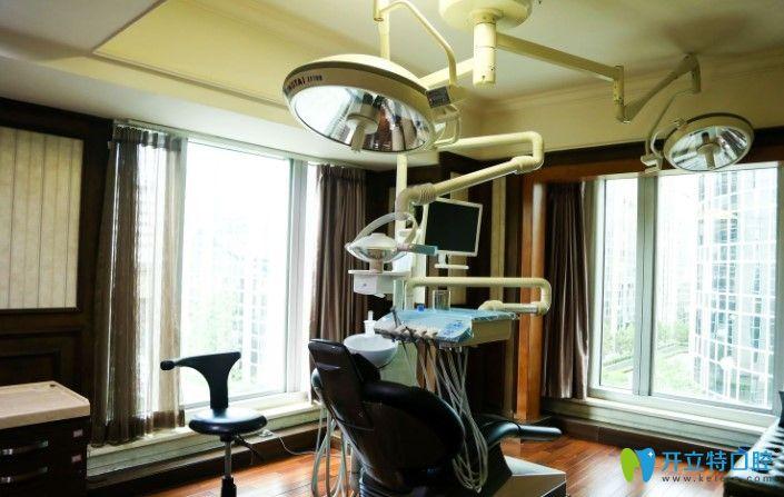 北京佳美口腔的诊疗室