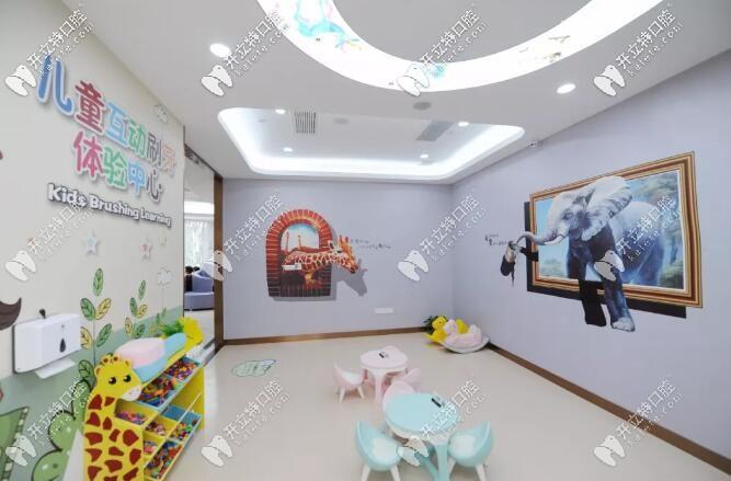 温岭牙博士口腔儿童娱乐区环境