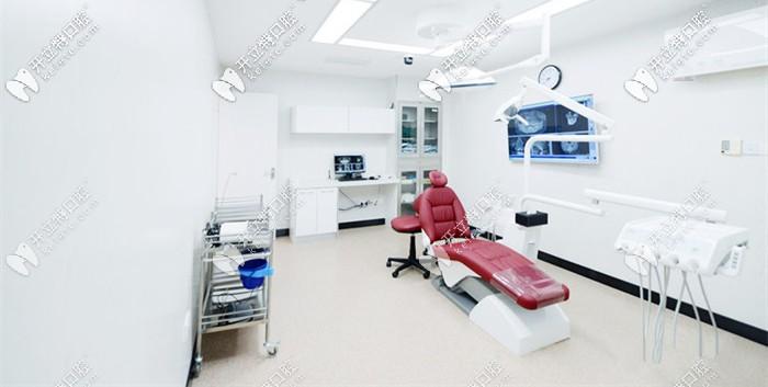 无菌的种植牙手术室