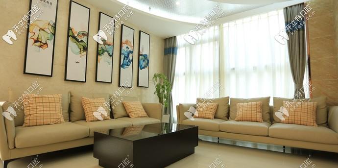 简洁大方的休息室