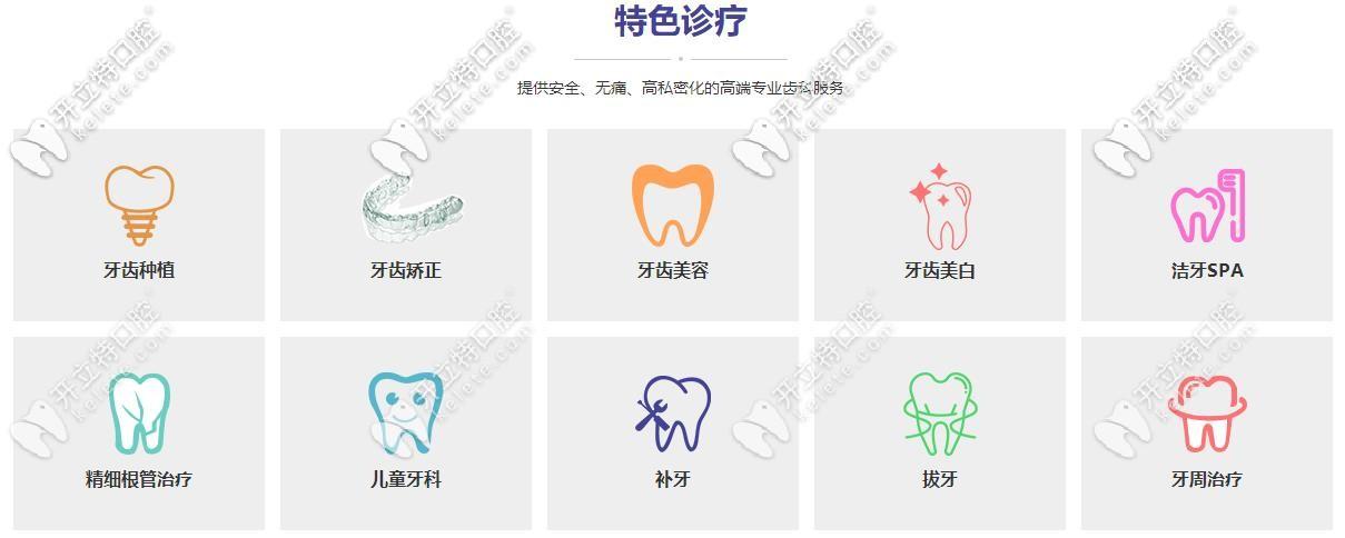 东莞固德口腔诊疗项目