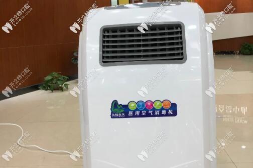 上海茂菊口腔空气也要消毒