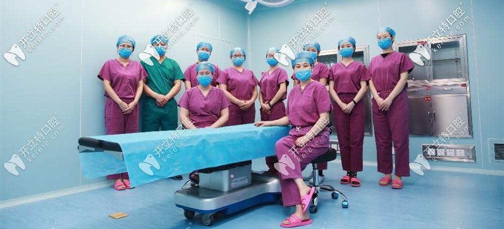 医生团队持证上岗