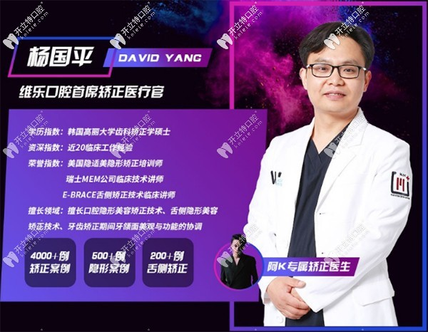 上海维乐杨国平做smartee正雅隐形矫治特惠价格14800
