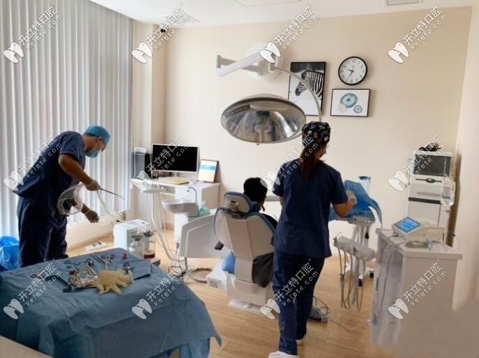 张家口悦己齿科种植牙手术室