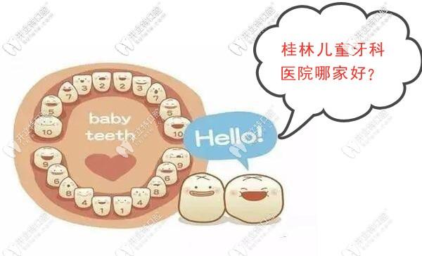 问下桂林的儿童牙科医院哪家好?想在七星区找家私立口腔
