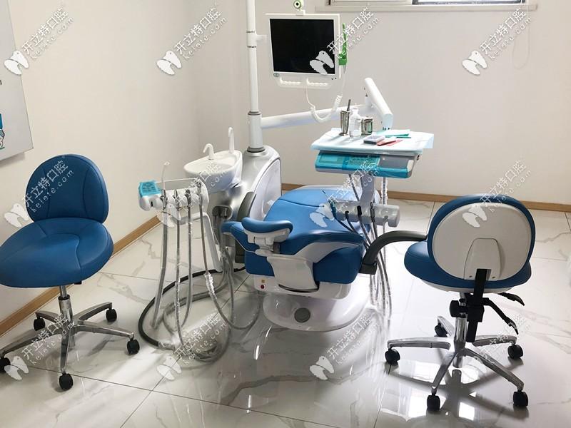 圣贝口腔的诊疗室