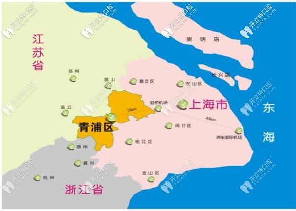 青浦区距离昆山、苏州距离较近
