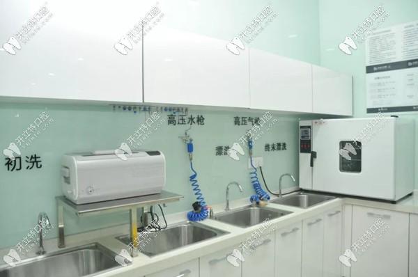 韩美口腔引进有高标准的消毒灭菌设施