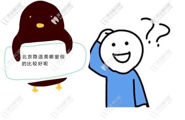 北京隐适美哪家医院做的比较好?佳美和劲松口腔能上榜吗