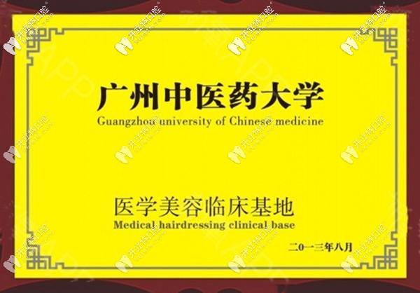 广州广大荣誉资质证书