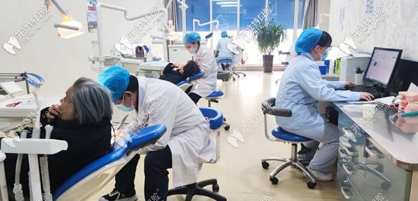 康贝齿科医院的综合就诊大厅