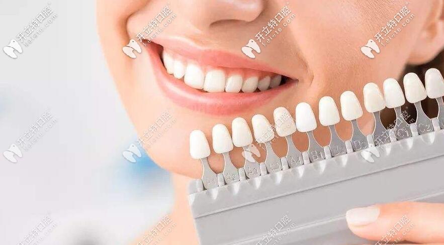 牙齿颜色对照表怎么看,深度剖析各种牙齿颜色