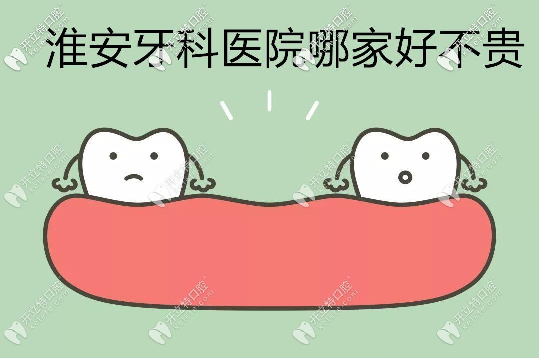 @找淮安牙科医院哪家好还不贵的你,送你份各口腔医院价目表