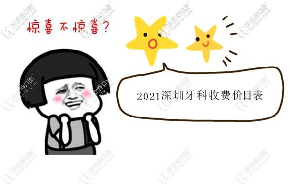 2021深圳牙科收费价目表,再说下补牙/拔智齿的医保报销比例