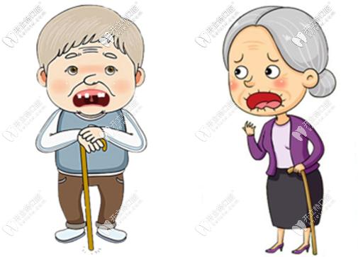 80岁老人做完全口半固定种植牙8年后的真实现状和感受...