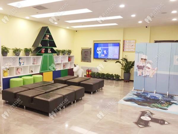 晋中市恒伦齿科的儿童候诊区