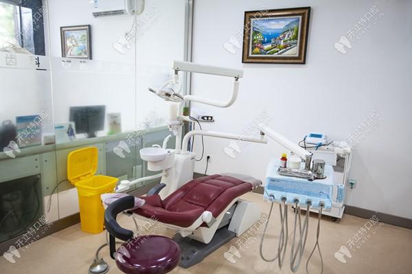 皓清齿科的正畸室