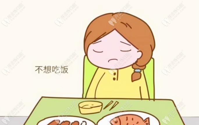 影响食欲不想吃饭
